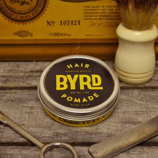Byrd Hair Pomade - Oil Based Pomade - Petroleum Based Pomade – Pomade.com - One Stop Pomade Shop
