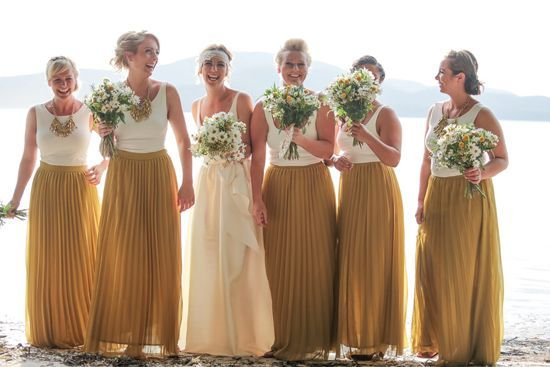 Marli and Dane's Rustic Beachside Wedding