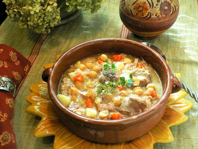 Cocido...  Spanish Soup