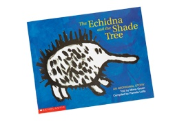 The Aboriginal Art Gallery, The Echidna & The Shade Tree Children's Book, $23, Shop 47, Level 2, QVB.