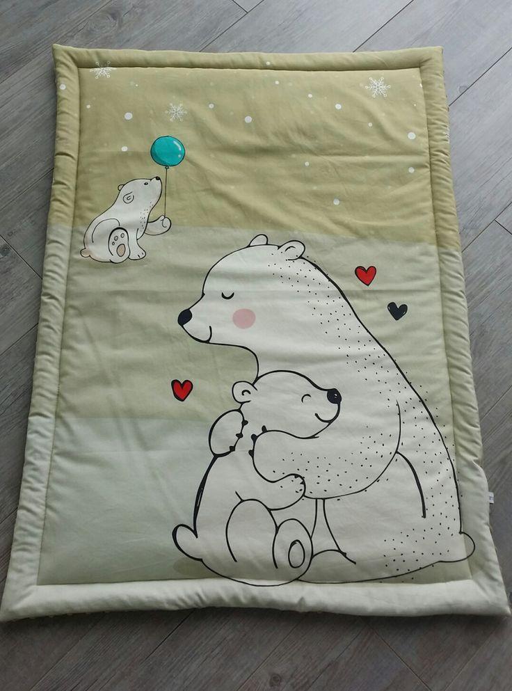 Couverture bébé- modèle famille ours - plaid bébé - couverture fait main : Puériculture par small-sleeper