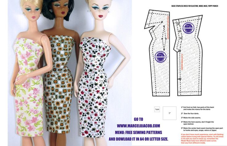 DOLL OUTFITTER - Marcelo Jacob Apparel for Dolls