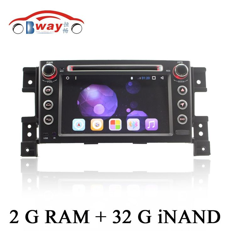 1024*600 Android 6.0 car Radio for Suzuki Grand Vitara 2006-2010 grand Nomade(chile) car dvd player with 2G RAM ,32iNAND #Affiliate