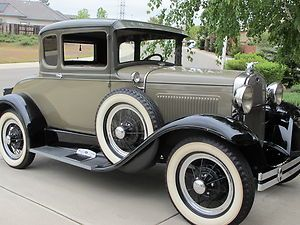 Ford :1931 Model A Deluxe. This car screams cool