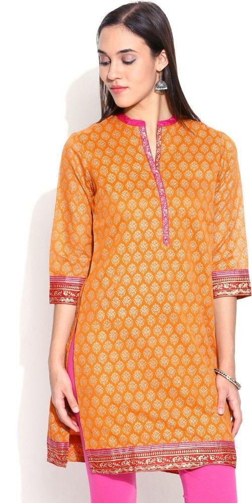 #BuyFromLink --> http://fkrt.it/Pf6XhuuuuN  #Biba #Printed #Straight #Kurta #Indianfashion #Women'sFashion #Gorgeous #look #style #Shop #Buy #online #india