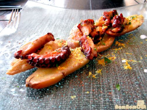 Grilled Spanish Octopus at Catch American Seafood (Santa Monica)