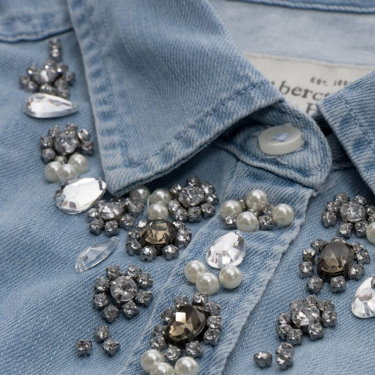 Womens Hadley Shine Denim Shirt | Womens Shirts | Abercrombie.com