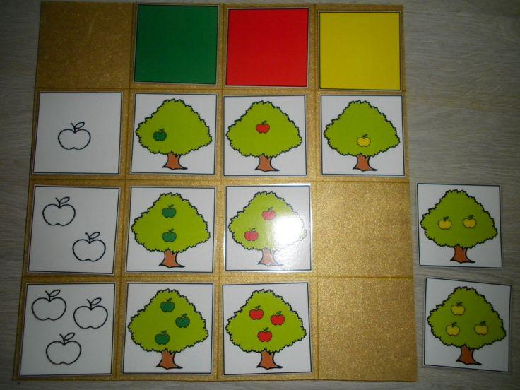 Matrix appel: sorteren op aantal appels in de boom en kleur *liestr*