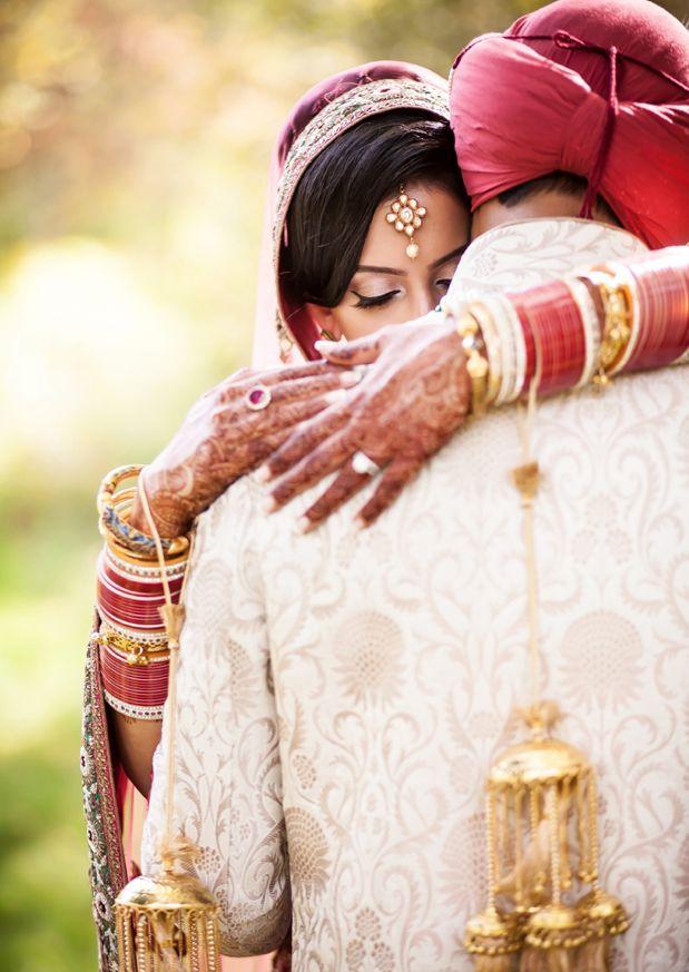 Beautiful Indian wedding photo #wedding #portrait