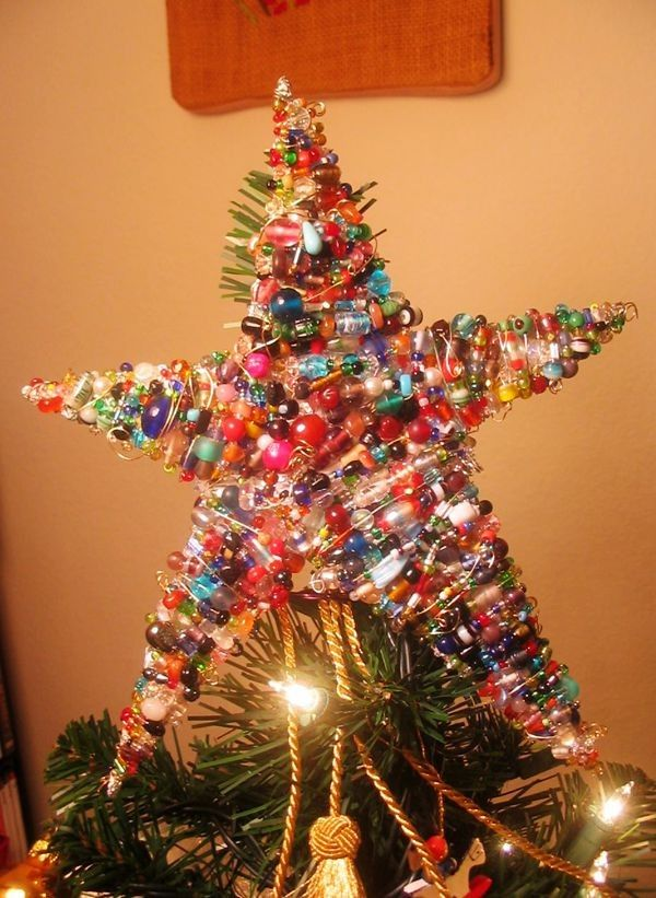 Best 25 Diy Tree Topper Ideas On Pinterest Star Tree Topper  - Make A Christmas Star Tree Topper