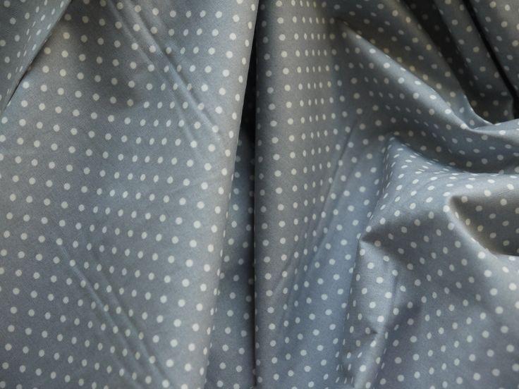 No. 108:  Little white polkadots on medium grey.