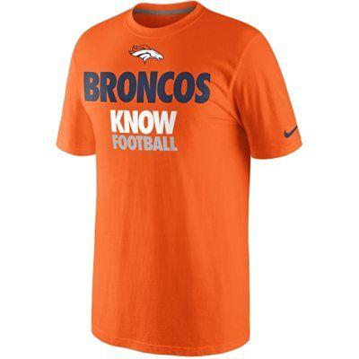 Nike Denver Broncos Draft II T-Shirt - Orange