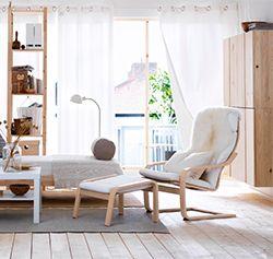 Гостиная с мебелью из натуральной сосны