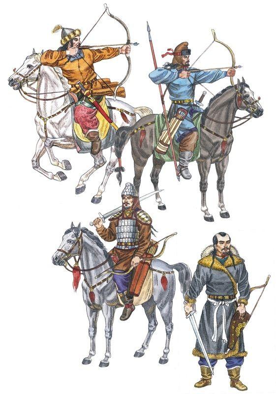 Huns, 1st - 4th c. AD by Kaliolla Akhmetzhan