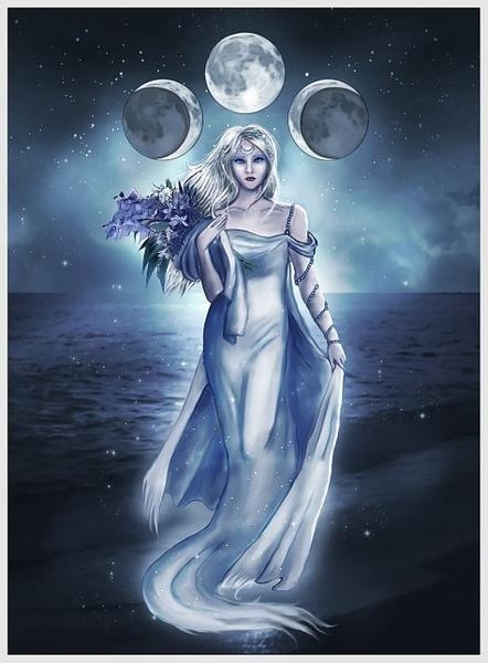 Triple goddess.