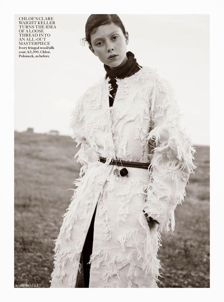 Vogue UK October 2014 | Natalie Westling by Karim Sadli [Editorial]