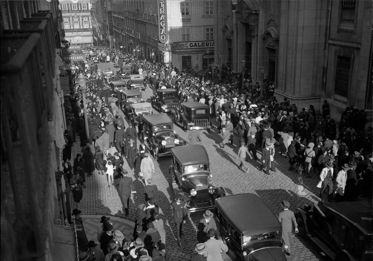 Rua Garrett, Chiado (Entre 1930-1940?)