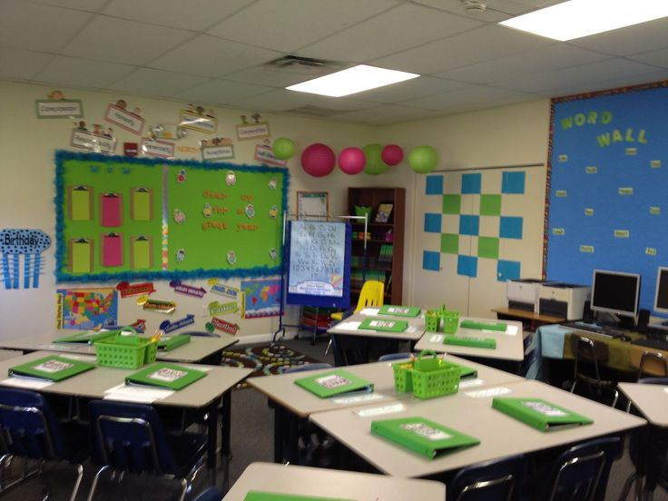 Classroom Decor 3rd Grade ~ Best images about rd grade classroom setup on