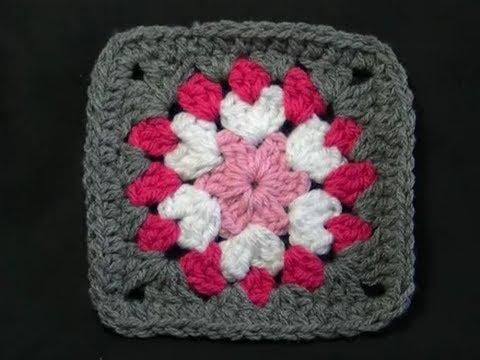 Not So Square Granny - Crochet Tutorial - YouTube
