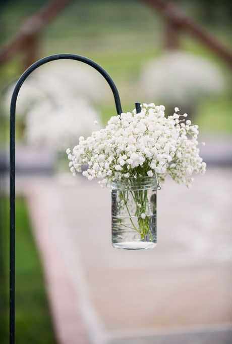 fall+bridal+shower+ideas | White Floral Wedding Ceremony Decor : Wedding Flowers Gallery