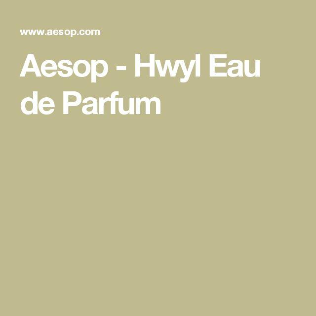 Aesop - Hwyl Eau de Parfum
