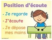 Woohoo! Plein d'affiches de classe EN FRANÇAIS et GRATUITES! Cliquez sur télécharger.