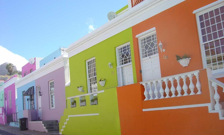 Houses in the Bo Kaap