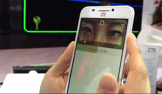 ZTE Grand S III with retina scanner technology at MWC 2015