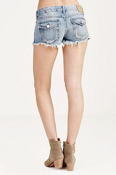 JOEY CUT-OFF WOMENS SHORT - True Religion