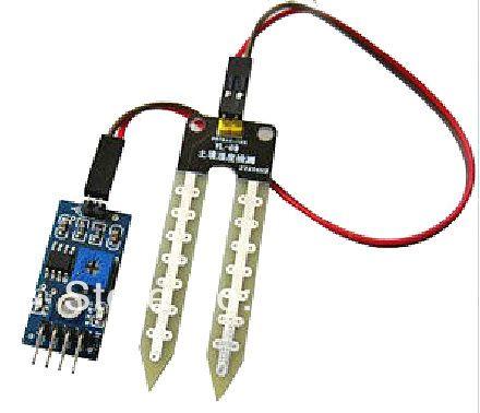 БЕСПЛАТНАЯ ДОСТАВКА модуль Почвы тестирование измеритель влажности, датчик влажности почвы, робот/умный автомобиль для Arduino