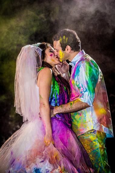 10 Best ideas about Colorful Wedding Dresses on Pinterest ...