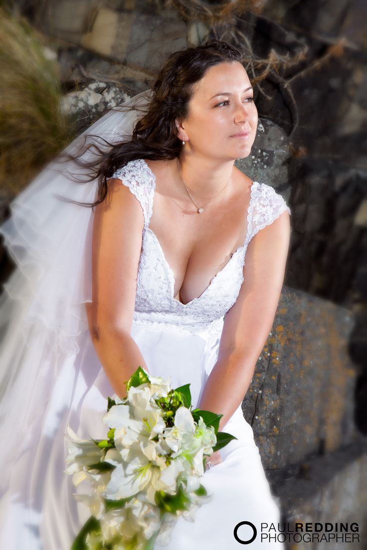 Wedding photography at Roaring Beach, Dover, Tasmania - Wedding photography by Paul Redding
