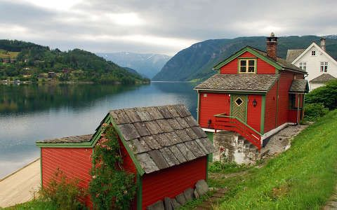 Ulvik, Hardangerfjord, Norvégia | Feltöltve: 2011. dec. 09. - Bálint, legnagyobb felbontás: 1920x1200