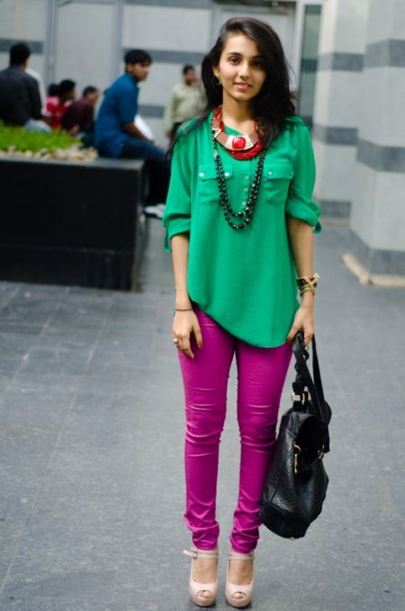Indian Street Style via WearAbout
