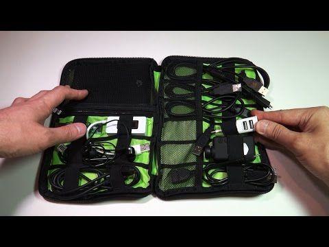 Органайзер для проводов - сумка для кабелей - YouTube