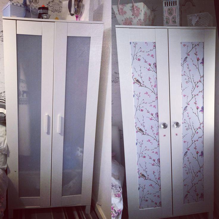 Schreibtisch Ikea Mikael Maße ~   Furniture makeover on Pinterest  Aneboda wardrobe, Bedroom furniture