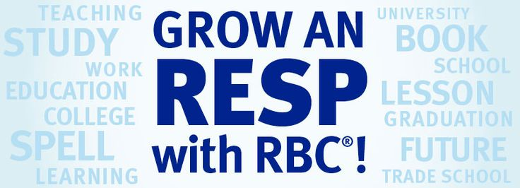 I just entered the Grow an RESP with RBC contest to help my child achieve their dreams.