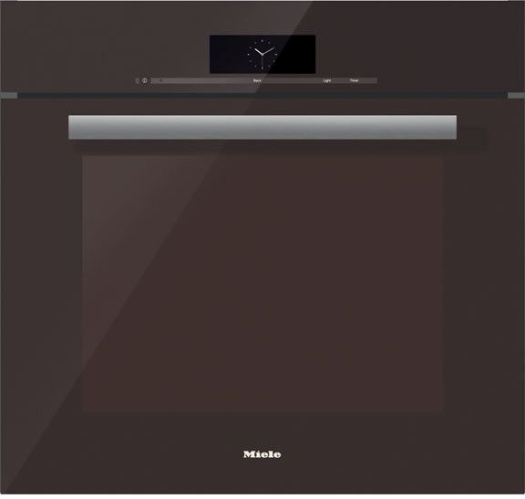 Miele H6880BPTB 30 Inch Single Electric Oven with 4.6 cu. ft. Convection Oven, Self-Cleaning, 19 Operating Modes, Wireless Roast Probe and MasterChef Programs: Truffle Brown, PureLine Handle