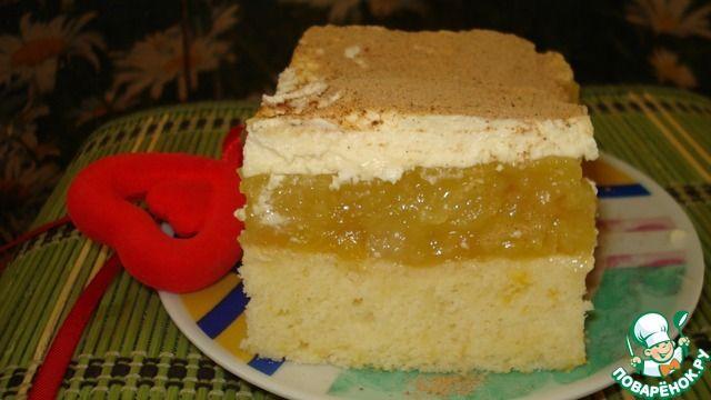 Югославский яблочный пирог - кулинарный рецепт