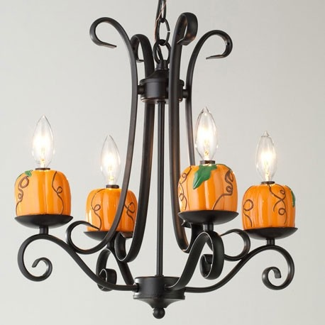 Heavenly Lights Harvest Pumpkin Chandelier Charm 7 99 Http