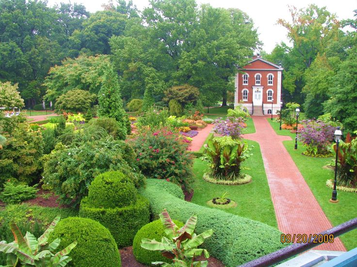 St. Louis Botanical Gardens Botanical gardens, Golf