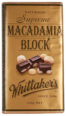 In this world of global brands its nice to able to give a shout out to a brand developed and proudly supported in New Zealand -  Whittaker's