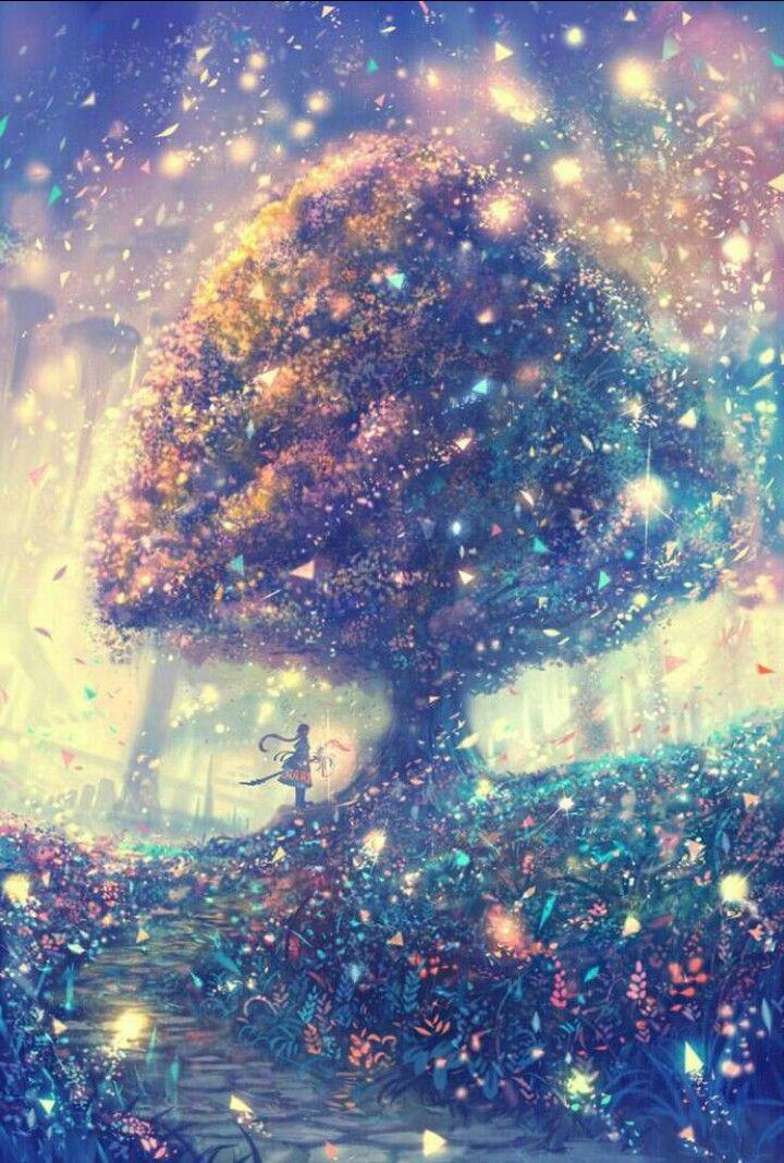 Beautiful Scenery Magical Anime Wallpaper
