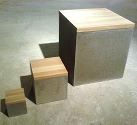 Concrete Box With A Wooden Top Diy Concrete Home Ideas Pinterest Wooden Tops Concrete
