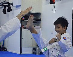 #Cadreacademy is a best #school for #Taekwondo #Classes for #kids in Singapore.  http://www.cadreacademy.com/taekwondo