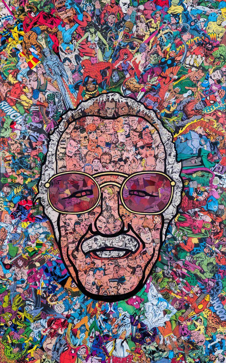 Stan Lee Collage by Mr. Garcin