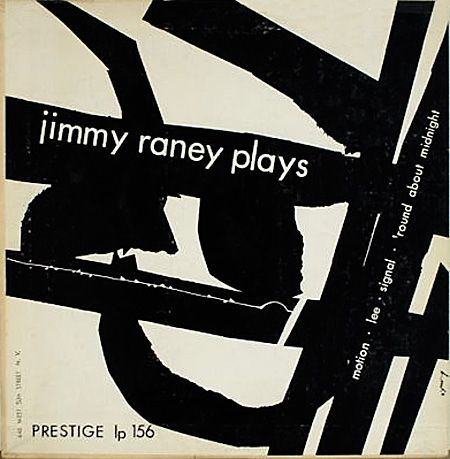 Jimmy Raney Plays - 10-inch LP cover by David X. Young 1953