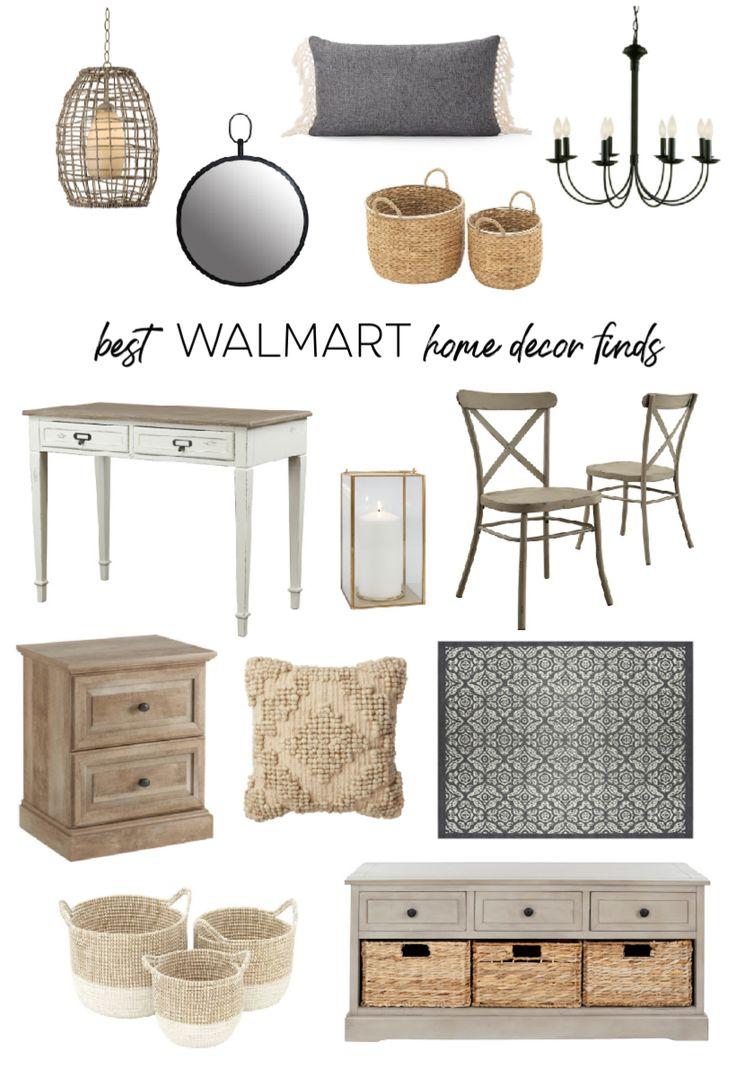Best Walmart Home Decor Finds