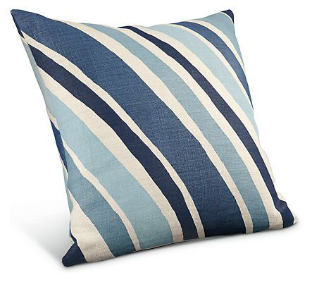 Wave pillows accent pillows accessories room board for Room and board pillows