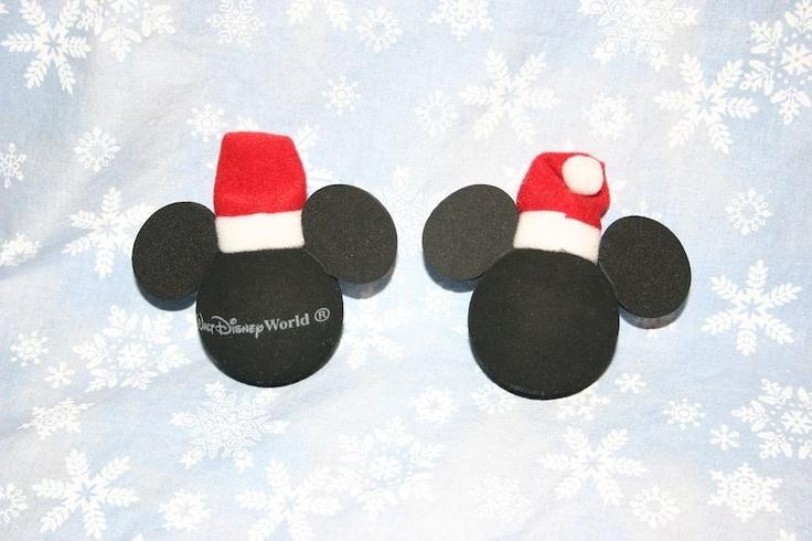 Disney's Mickey Mouse Santa's Hat Antenna Topper WDW